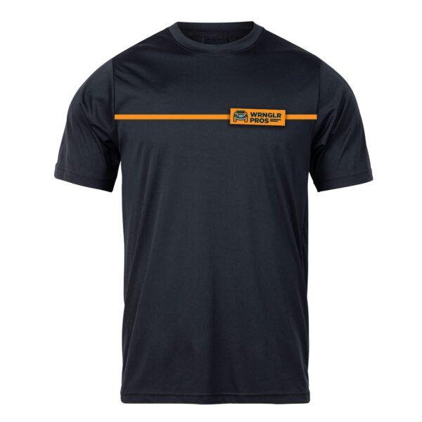 Orange Stripe Front